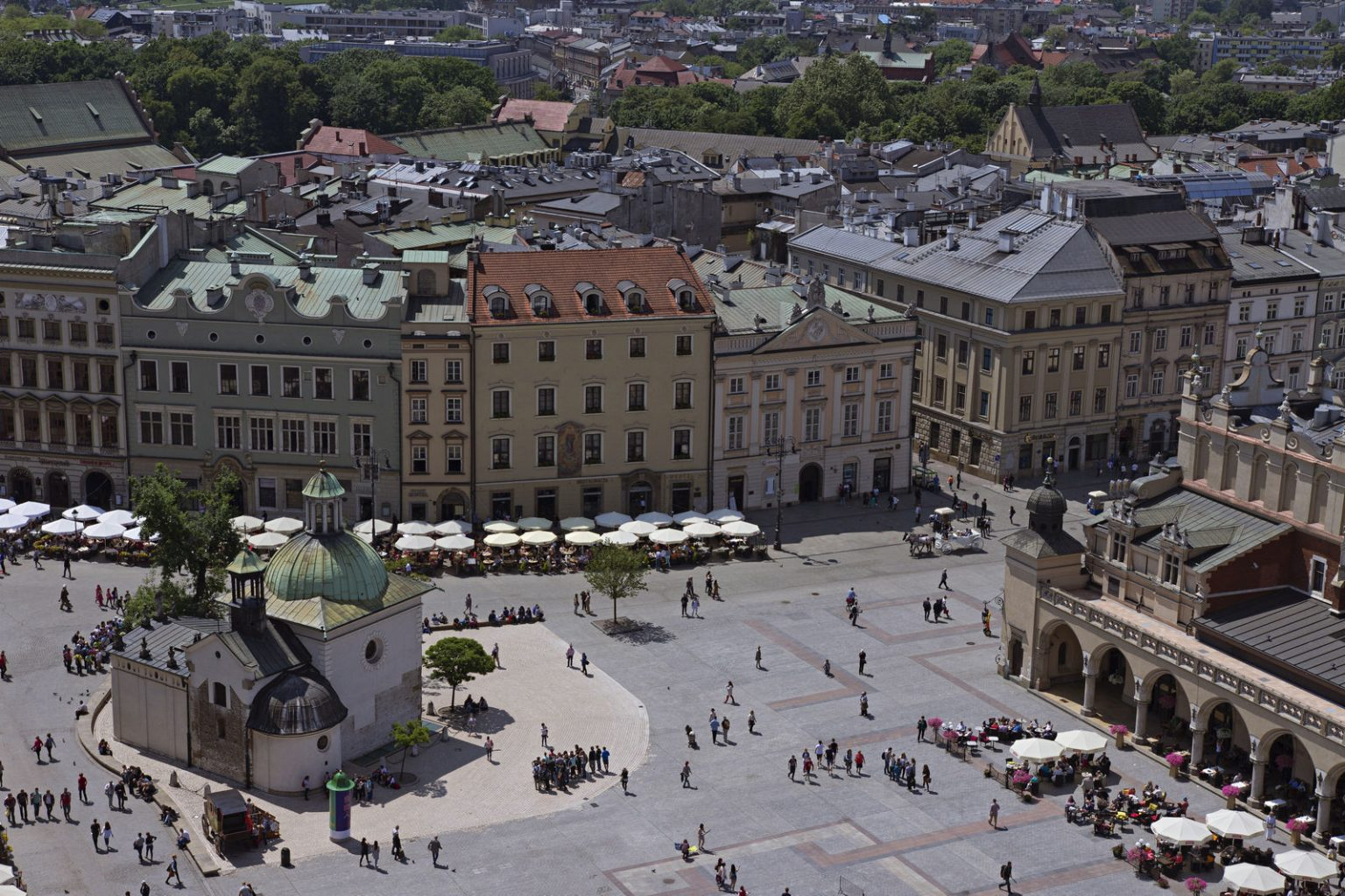 main square krakow poland