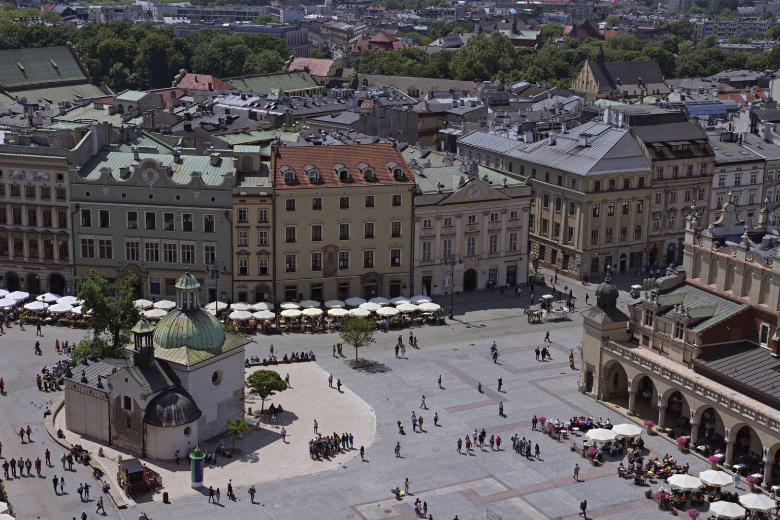 main square krakow poland