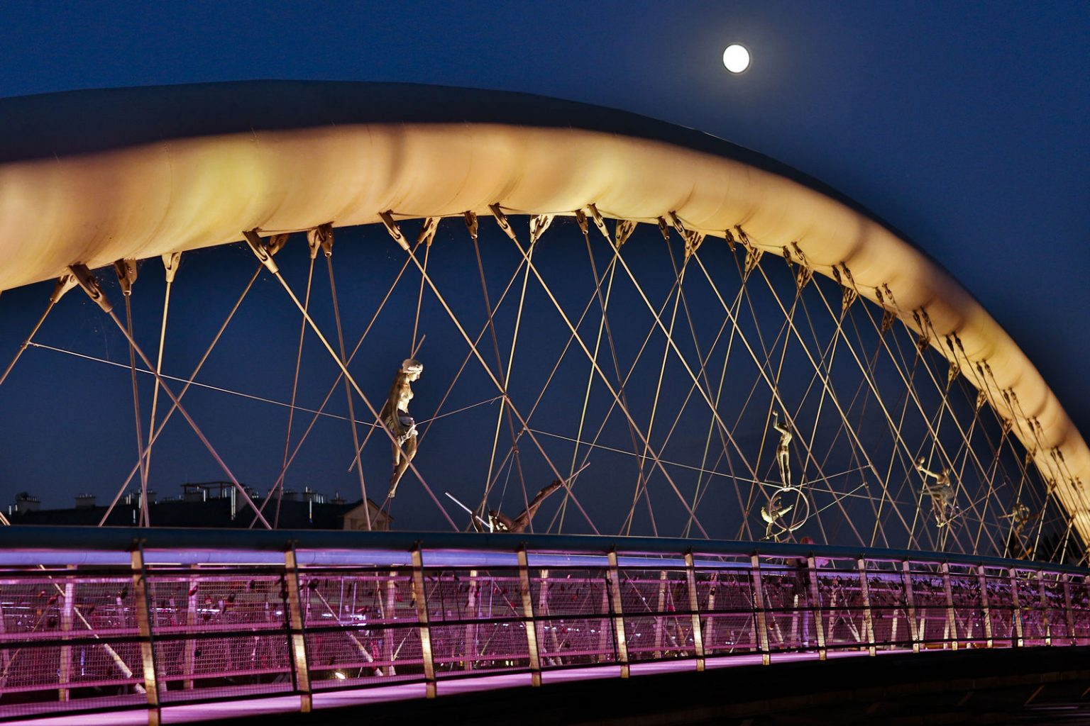 bringe in kazimierz krakow by night