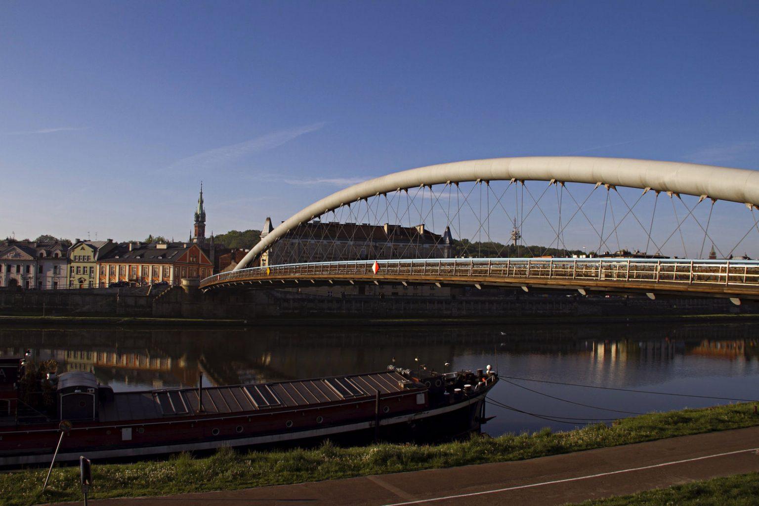 bridge in kazimierz krakow