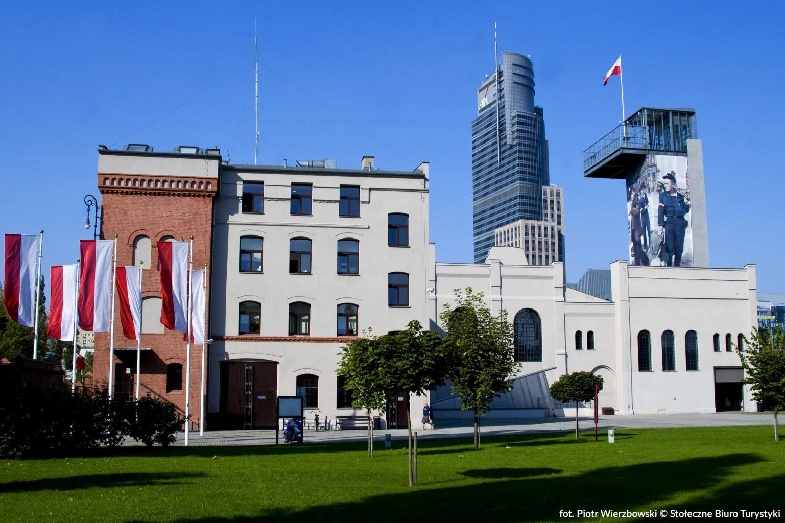 museum of warsaw uprising in warsaw