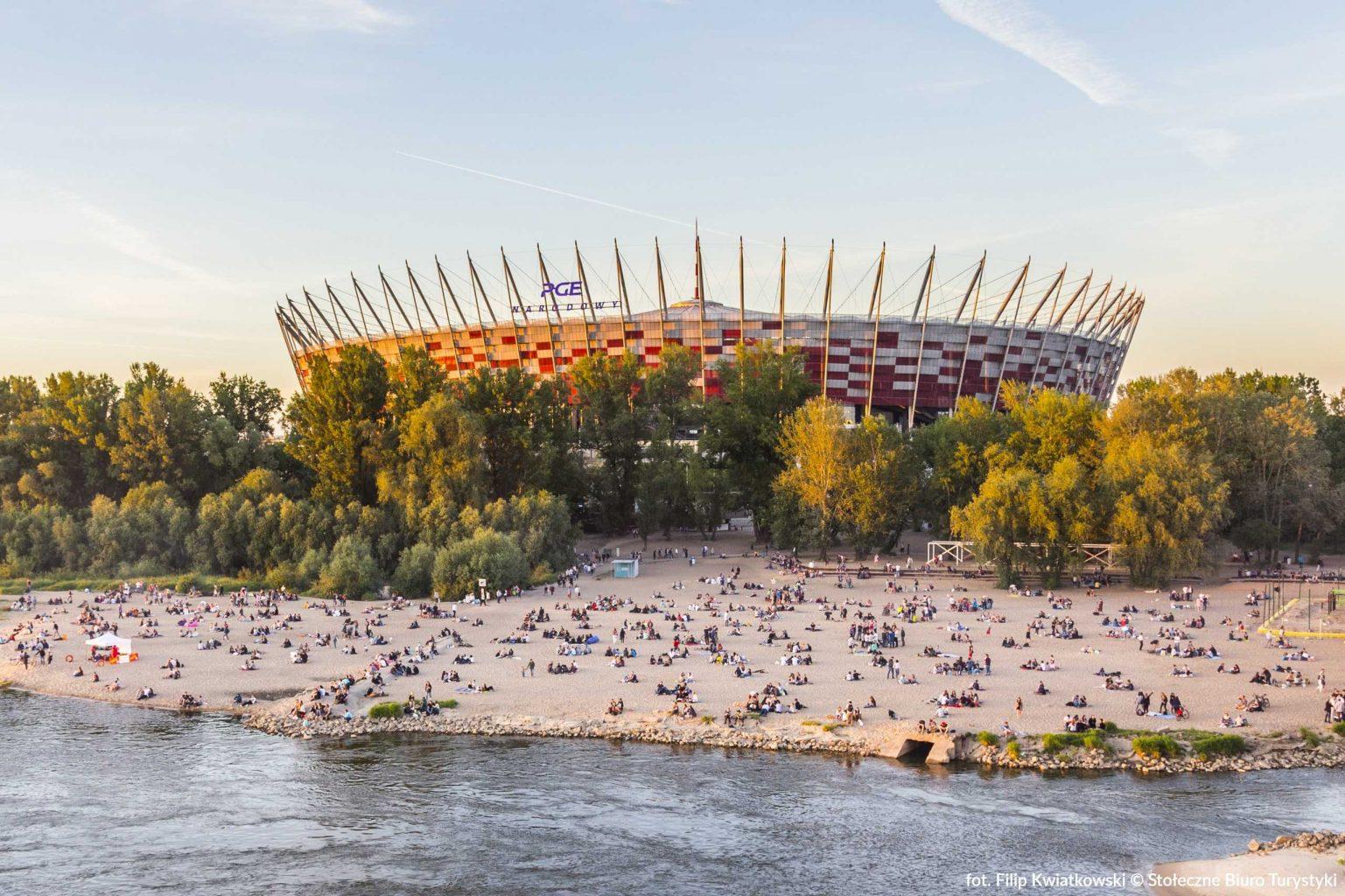 national stadium in warsaw poland
