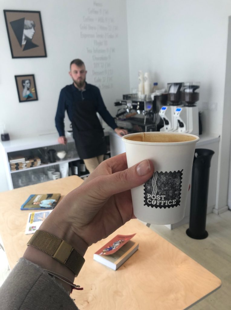 a cup of the best coffee in bydgoszcz