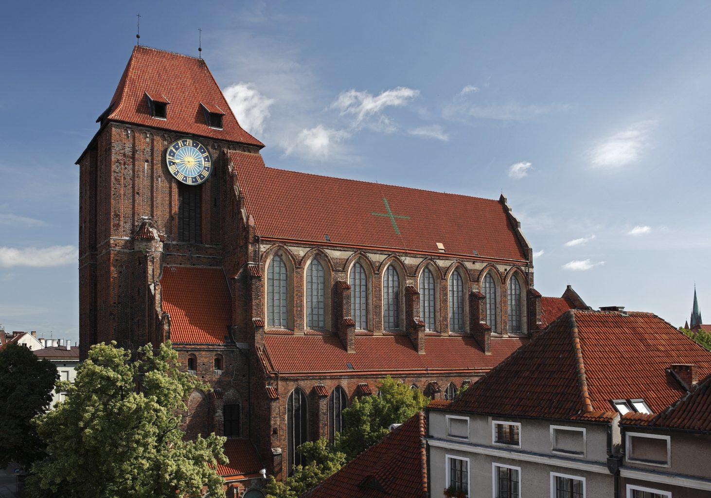 cathedral saint johns' in torun