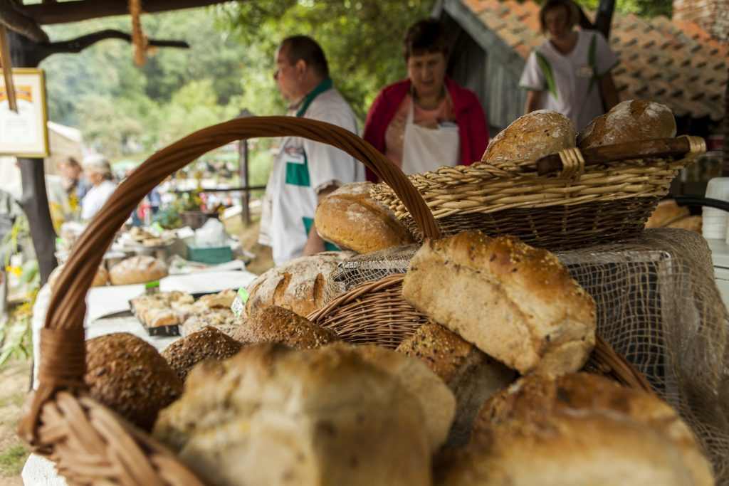bread on the farm food festival in gruczno