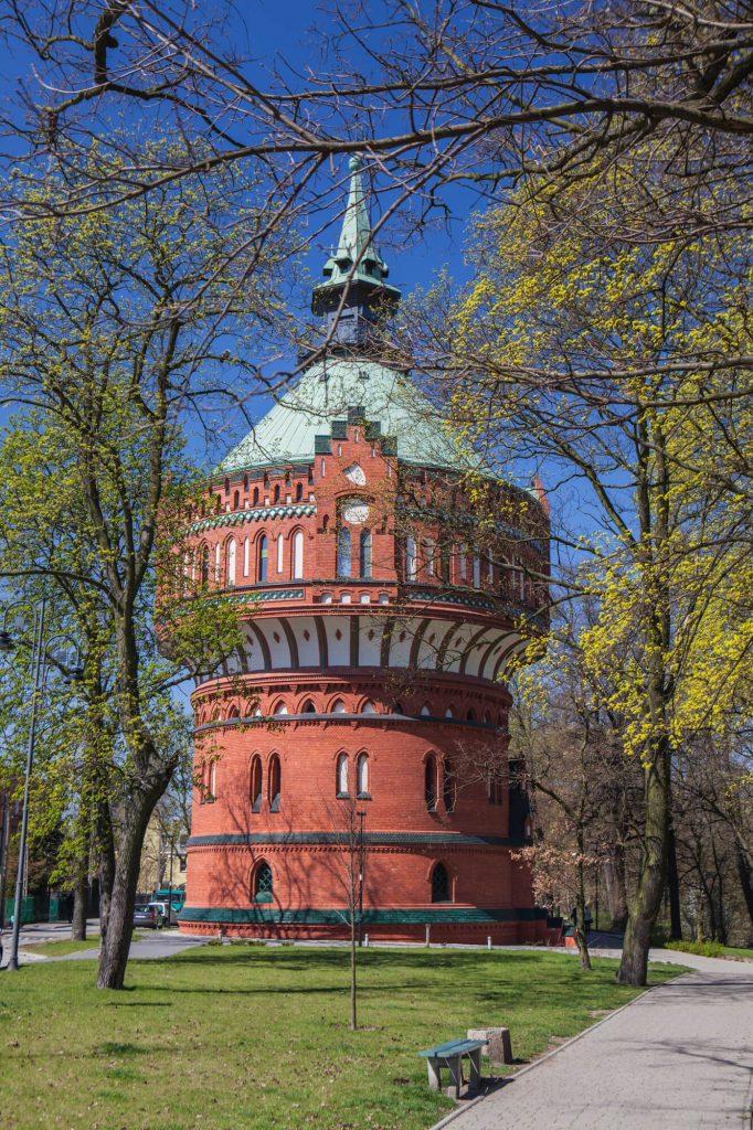 water tower in bydgoszcz